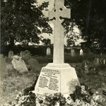 Tunstead War Memorial, circa 1920