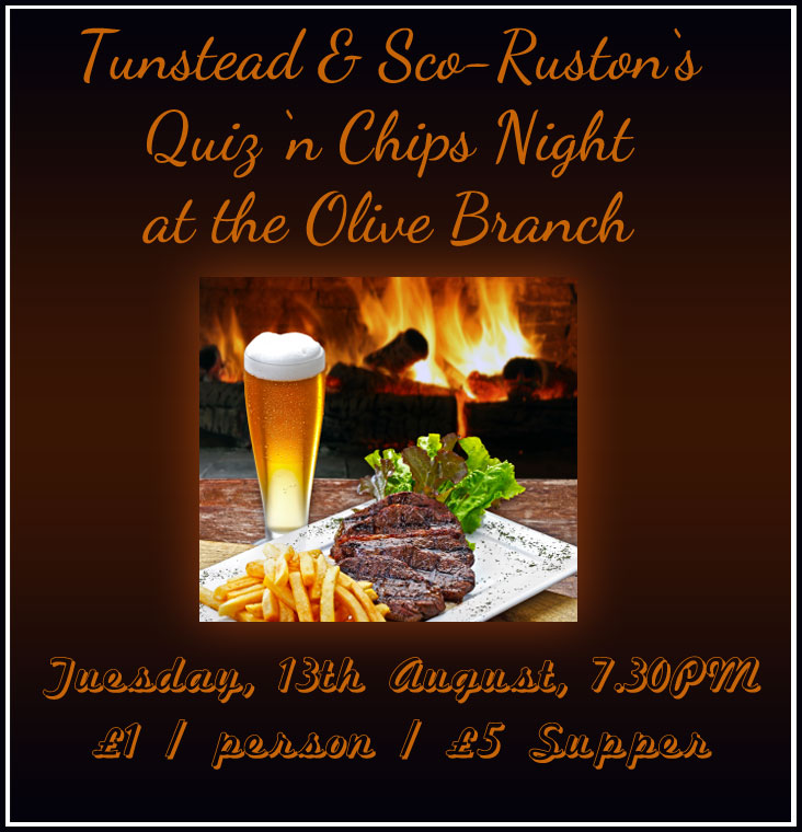 Tunstead & Sco-Ruston Quiz Night