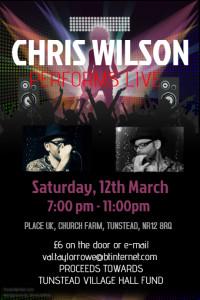 Chris Wilson gig